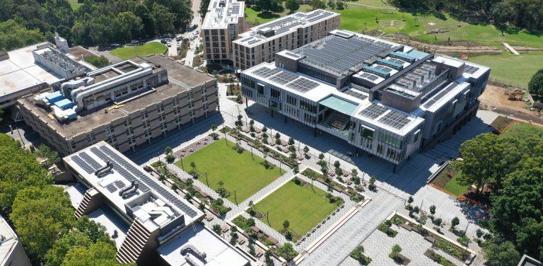 1 Central Courtyard, Macquarie Uni