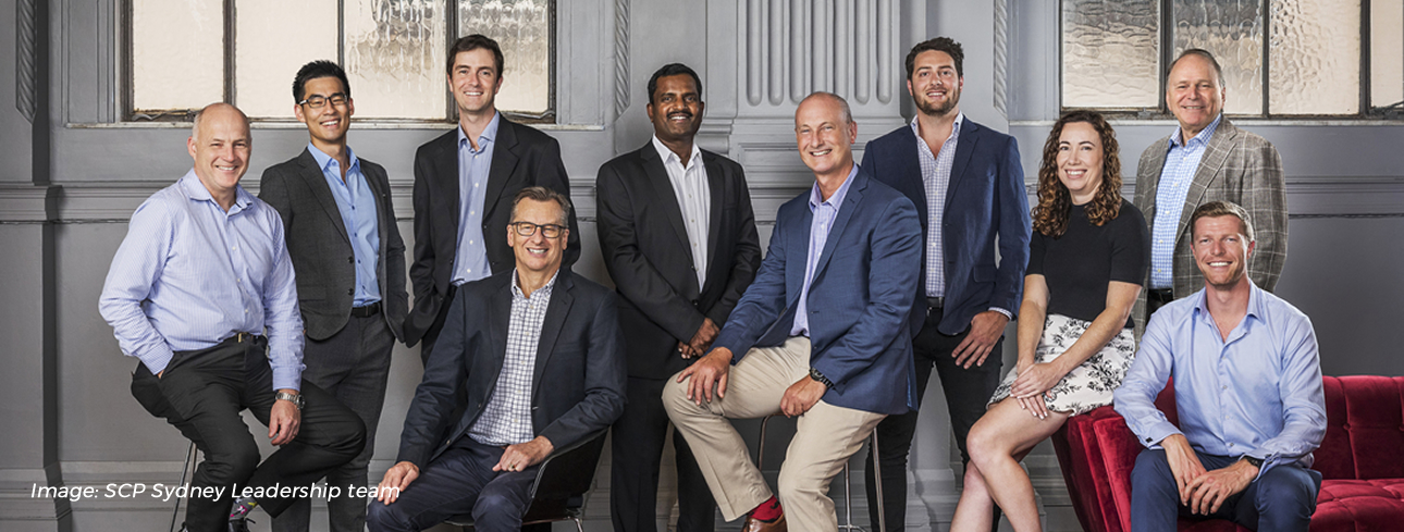 SCP Consulting Sydney Leadership Team